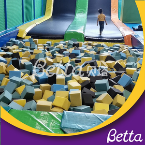 bettaplay foam pit cube for indoor and outdoor playground
