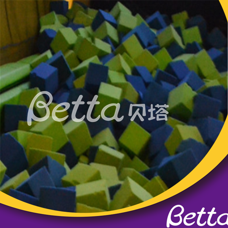Bettaplay Children Used Amusement Park Foam Pit Cover for Trampoline Park