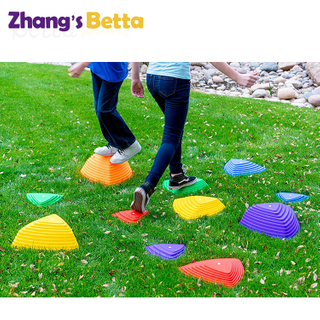 Wholesale Balance Stepping Stones Plastic River Stone Toy China Supplier